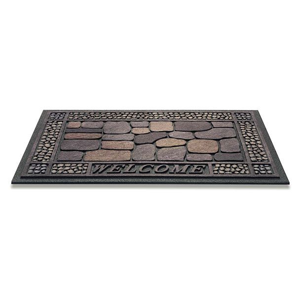 Decomat stones schuin decoratieve matten
