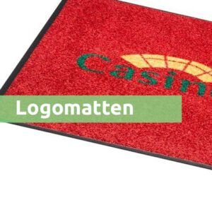 Logomatten categorie webshop mattenvoordeel.nl