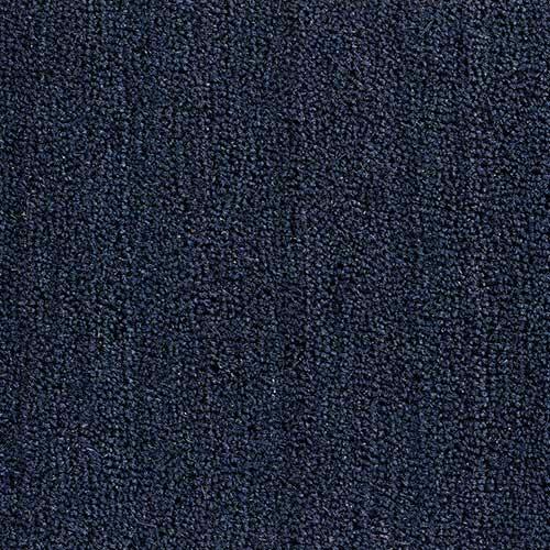 Kokosmat op kleur kobaltblauw
